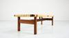 272 Fredericia Stolefabrik Borge Mogensen rattan cane oak danish design coffee table bench scandinavian vintage retro classic icon