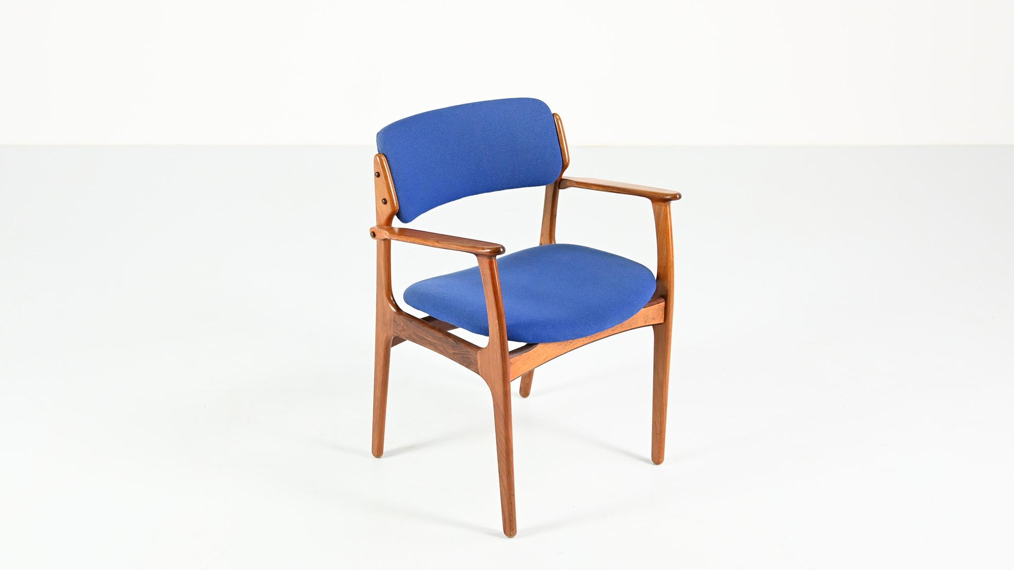 erik buch od mobler odense maskinsnedkeri model 49 armchair fauteuil chaise chaise danish design vintage retro