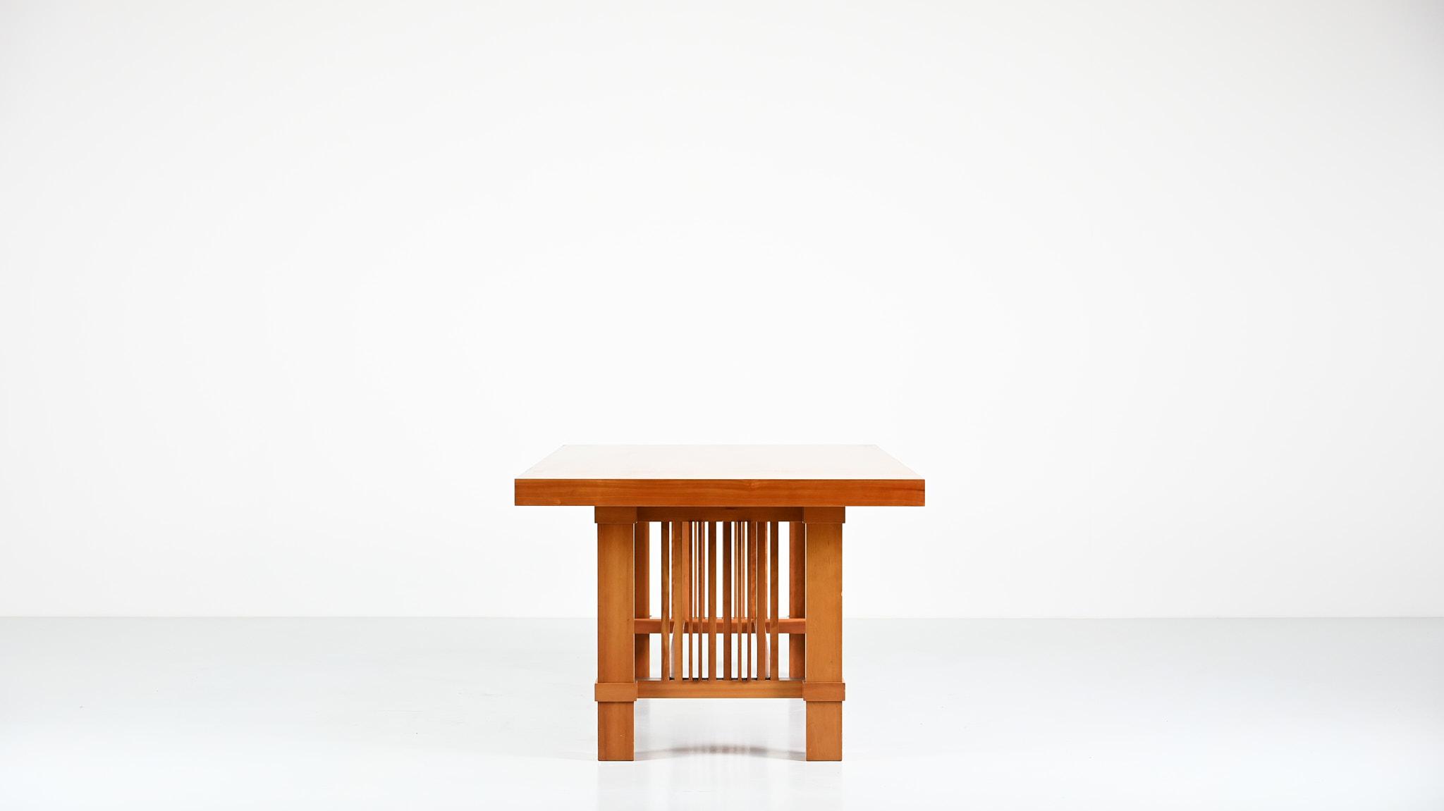taliesin cassina table frank lloyd wright modernism design prairie style allen architecture