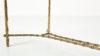 Maison bagues neoclassique neoclassical coffee table basse vintage brass bronze laiton