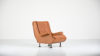 marco zanuso regent armchair design mid century modern arflex vintage armchair fauteuil leather cuir lady senior triennale